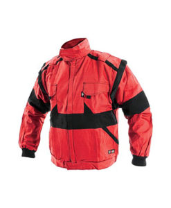 Workwear Jacket- Red and Black