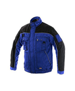Workwear Jacket-Blue and Black