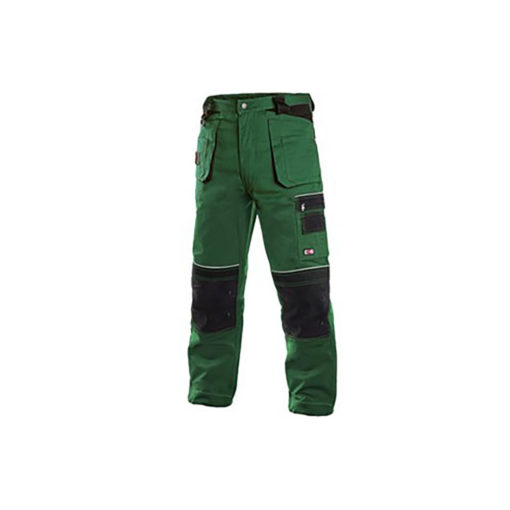 Workwear Trousers- Green and Black
