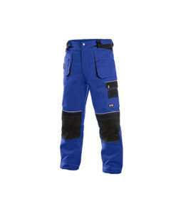 Workwear Trousers- Blue and Black