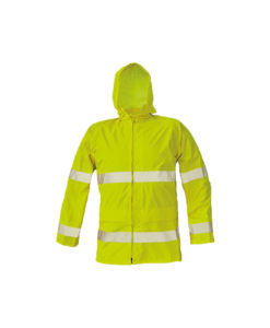 hivis waterproof rain jacket