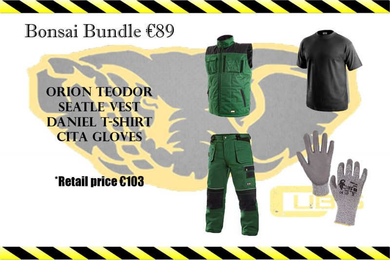 Bonsai Bundle at Cubis Workwear