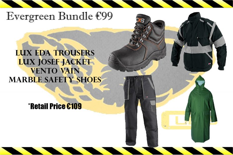Evergreen Bundle by Cubis Workwear