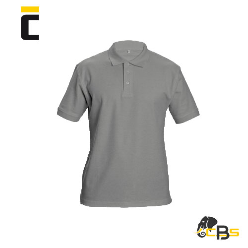 High quality unisex polo shirt made of the material double pique (fi ner knit). Fixing shoulder band. Collar and sleeve cuff with a rib knit around the edges. Transparent buttons in the same colour as material. Suitable for printing and embroidery, 190 g/m2.