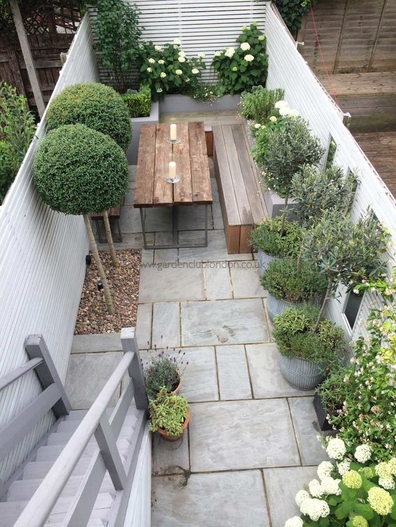 small garden ideas by Cubis Workwear