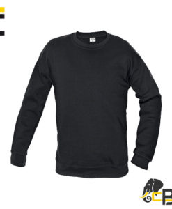 High quality sweatshirt with spherical-head sleeves. Teaselled inner side. Suitable for printing and embroidery