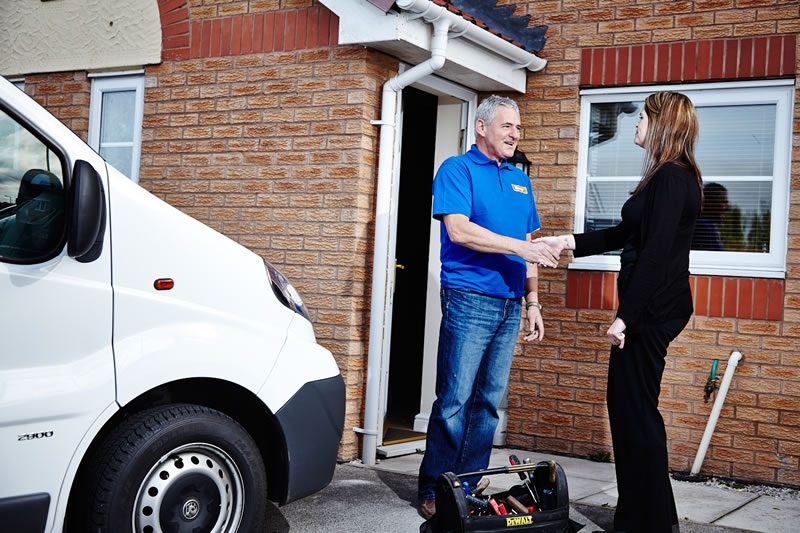 Trusted tradesman and great customer service