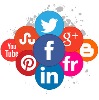 make your business visible and be social