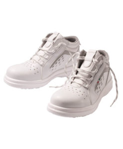 ladies white sanitary boots