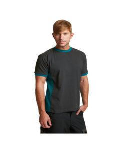 cotton tshirt black green