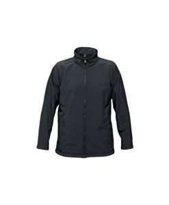 softshell jacket black embroidery