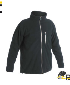 High quality fleece jacket with a breast pocket