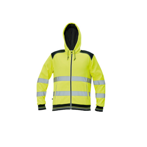 hivis hoodie for pritn and embroidery knoxfield yellow