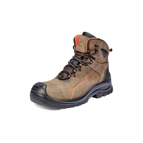 Derril ankle S3 Ankle-high safety boots with a composite toe cap and Kevlar puncture resistant insole