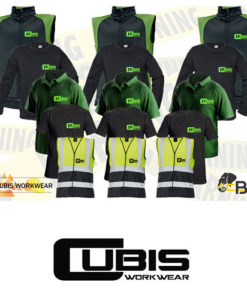 workwear embroidery bundle green for three