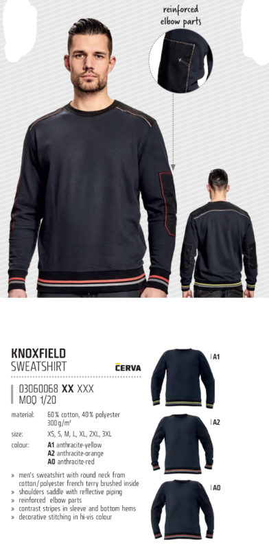 Knpxfield jumper high quality for embroidery