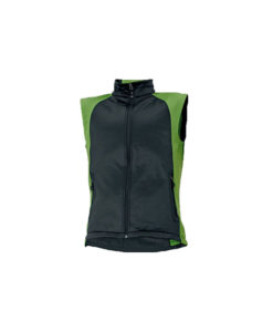 Softshell bodywarmer black green