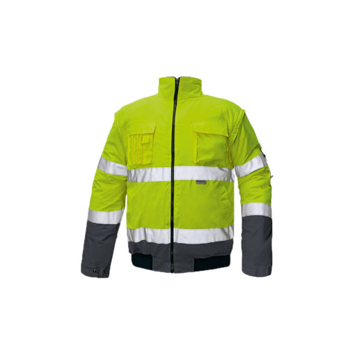 hivis jacket and bodywarmer waterproof jacket for print and embroidery clovelly