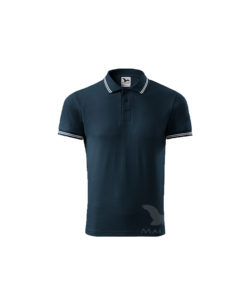 polo shirt navy urban embroidery print cubis workwear