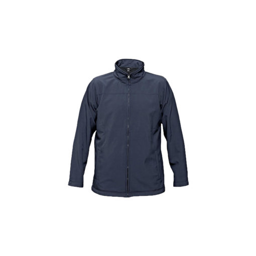 softshell jacket navy embroidery
