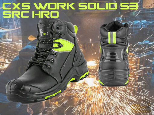 cxs work solid boots